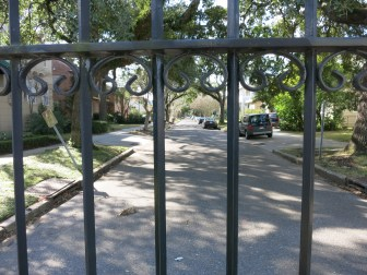 An assistant city attorney wrote Thursday that it may take a few days to remove the fence.