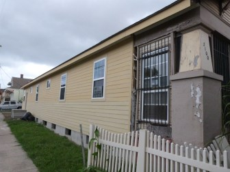 New siding was installed on the house at 3100 Cleveland Ave. after The Lens checked on it last winter.