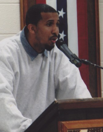 As part of his prison's program for Black History Month, Phipps gave a speech about self-acceptance.