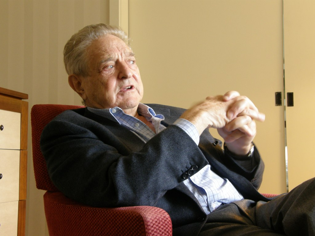 Philanthropist and Open Society Institute Chairman George Soros