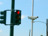 Cameras like these will again be activated to identify and ticket red-light runners if the council approves an ordianance Thursday.