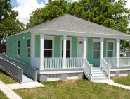 New construction on Hamburg Street replaces a formerly blighted home in Gentilly.