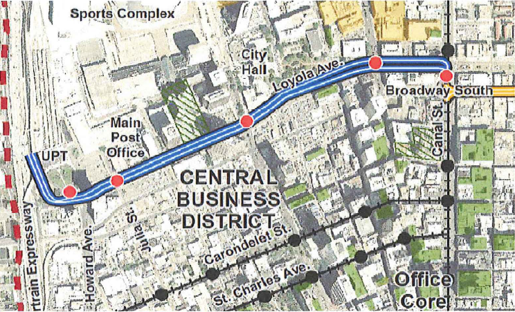 cannal st new orleans maps images