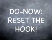 Reset the Hook, argues Folwell Dunbar