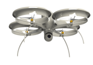 An eye in the sky, the Bravo 300 is made in New Orleans but has yet to find a buyer in local government. Photo courtesy of Crescent Unmanned Systems