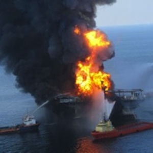 The explosion of the Deepwater Horizon rig triggered the massive oil spill for which BP faces billons in fines.