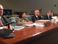 Sewerage & Water Board officials address City Council members at Wednesday's  hearing. photo: Tyler Bridges