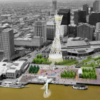 Convention Center officials envision iconic sculpture on former World Trade Center site