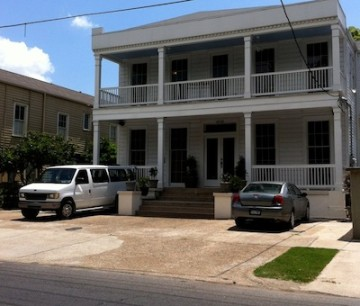 This owner who turned a Garden District front yard into a parking pad  has been ordered to  rip out the paving and pay a fine.