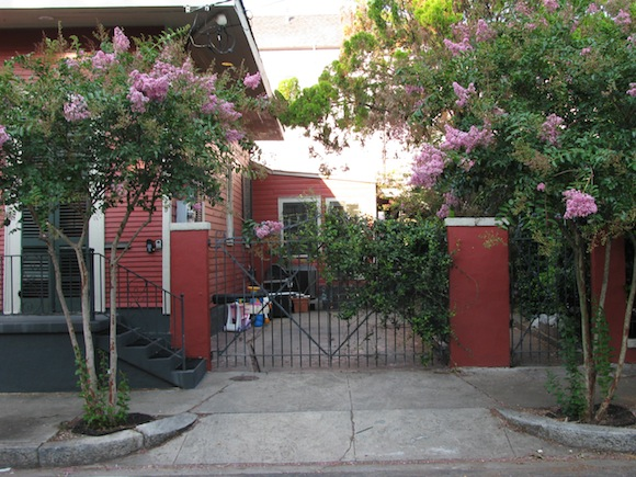From the street, the tranquility of the Marigny driveway belies the violence that resulted from Merritt Landry's assumption that the teenager he shot planned to break into the house.