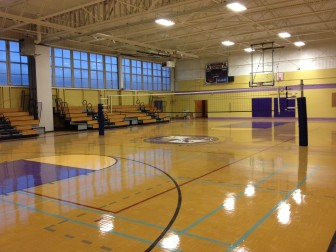 Warren Easton has renovated its 50-year-old gym.