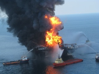 BP's Macondo well became a geyser of oil and fire in 2010 and still pollutes Gulf shores.