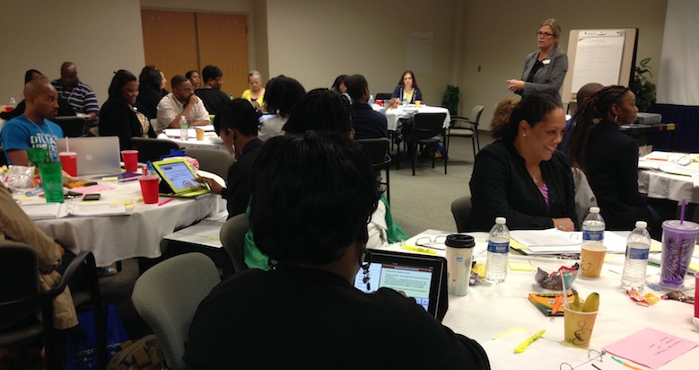 Educators gathered in September at the Lindy Boggs Center for training on how to implement Common Core standards.