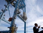 President Obama stressed trade opportunities during his recent visit to the Port of New Orleans.
