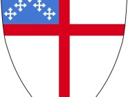 The shield of the Episcopal Church combines crosses of St. George and St. Andrew.