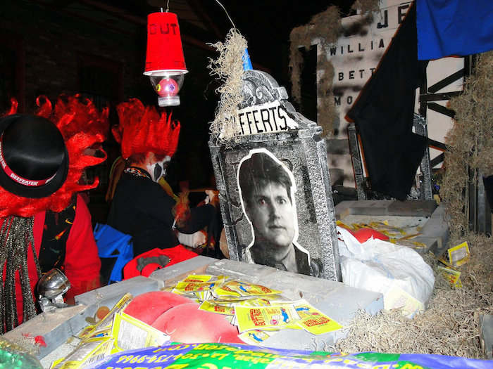Krewe du Vieux's irreverence and indecency harks back to Carnival's earliest incarnations.