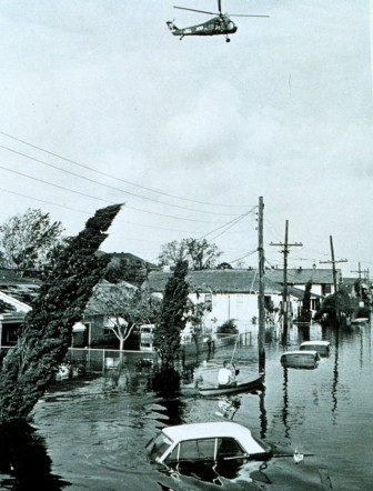 Flooding caused by Hurricane Betsy in 1965 prompted Congress to pass legislation creating the Lake Pontchartrain and Vicinity Hurricane Protection Project — the system of levees and floodwalls ringing the New Orleans area.