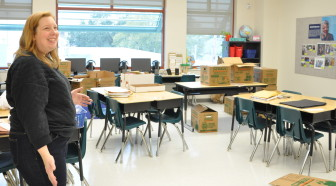 A new classroom with appropriately sized desks and chairs are just some factors that let students know that their education is valued, Sears said.