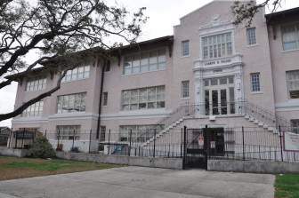 Andrew H. Wilson Charter School, in New Orleans' Broadmoor neighborhood, will will transfer to new leadership over the summer.