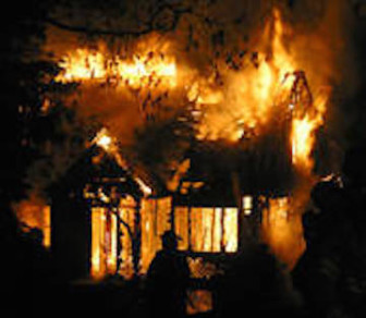 House fires frequently originate in attics that contain heating and cooling equipment.