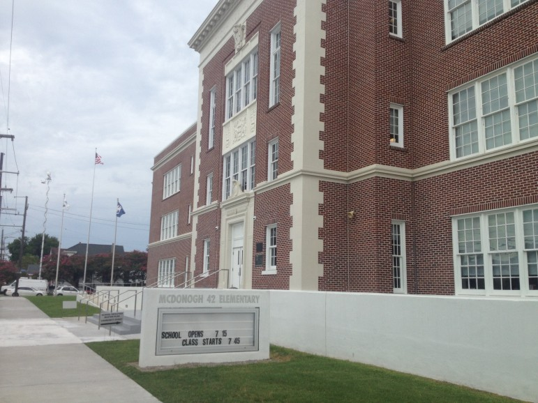 The rebuilt McDonogh 42 in Treme is open for students.