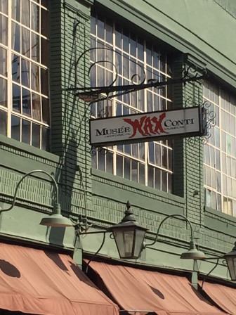 Sign of the times: the Quarter's beloved wax museum is closing to make room for condos.