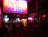 There are no fewer than seven strip clubs in one block of Bourbon Street and more on Iberville.