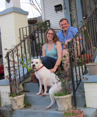 Eric and Quinn were relieved to find a new home in the Fairgrounds neighborhood.