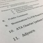 The agenda for last weeks meeting of the Algiers Charter School Association didn't indicate the board was considering the closure of Algiers Technology Academy.