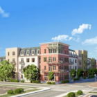 Illustration of Bienville Basin mixed-income housing development