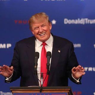 TV's Trump: aspiring politician.
