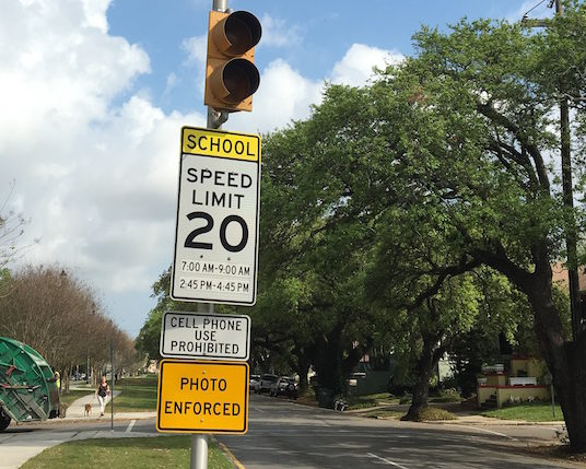 City workers have been installing signs warning drivers that cameras will soon enforce speed limits in school zones. The city is undertaking a massive expansion of the program, which issues about 252,000 tickets and nets the city about $16 million a year.