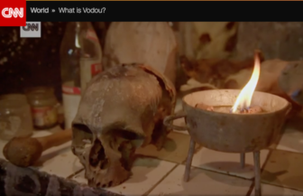 The show dwelled on the more macabre aspects of Vodou in ways the columnist found misleading.