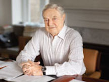 Soros accepts Ridenhour Prize for Courage in an age of lies